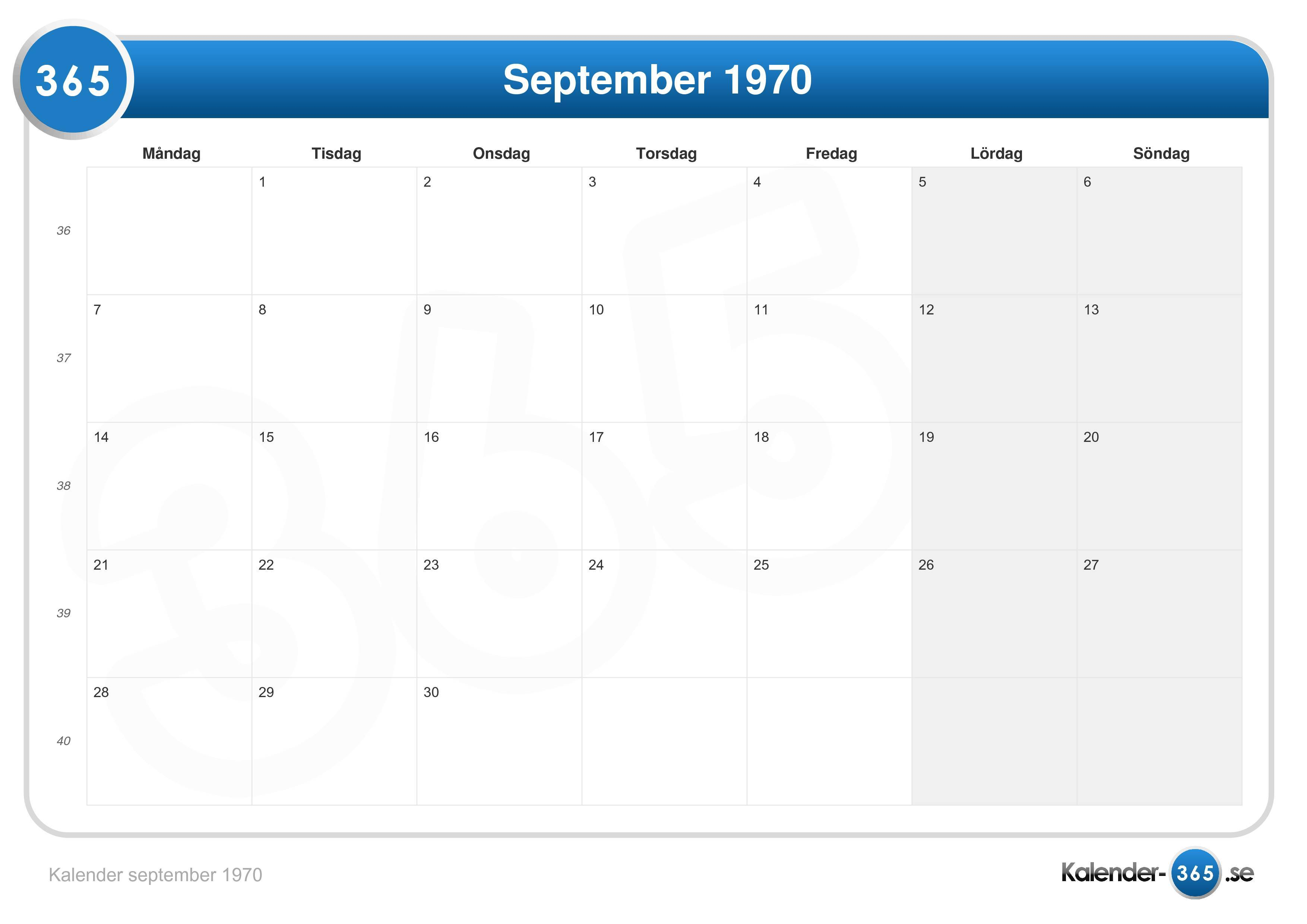 vecka 29 kalender